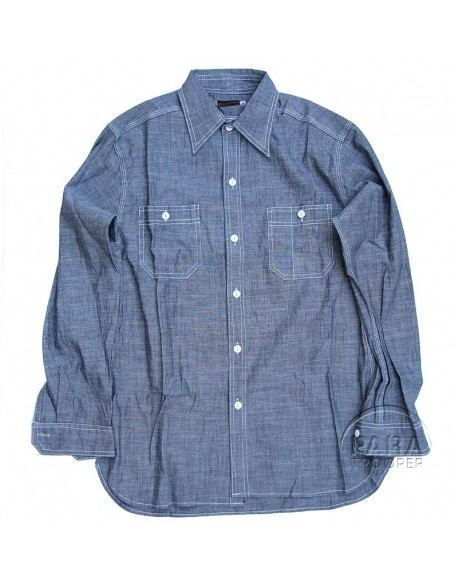 Shirt, Chambray, USN