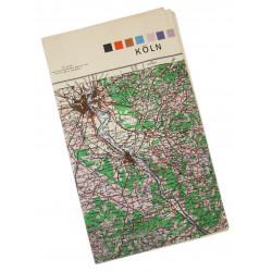 Map, Köln, Germany, 1944