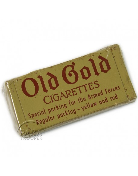Cigarettes de ration K, Old Gold
