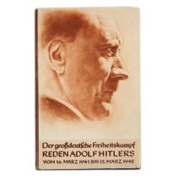 Book, Der großdeutsche Freiheitskampf, III. Band, Reden Adolf Hitlers vom 16. März 1941 bis 15. März 1942, 1943