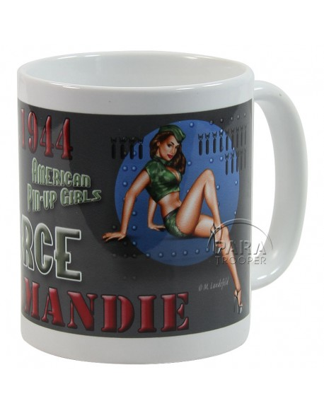 Mug, Pin-Up, Air Force