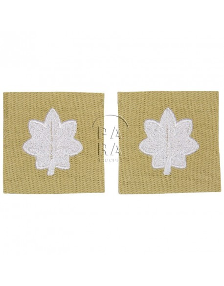 Rank insignia, cloth, lieutenant-colonel