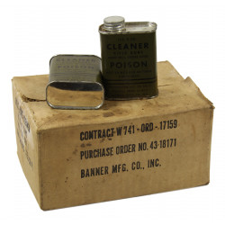 Cleaner, Rifle Bore, 6 oz., 1943