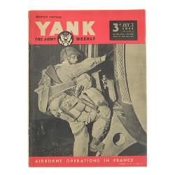 Magazine YANK, 2 juillet 1944, Joseph Gorenc, 506th PIR, 101st Airborne