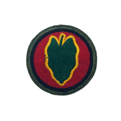 Patch, 24th Infantry Division, OD border
