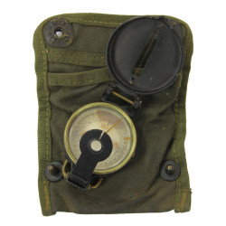 Compass, Superior Magneto, with OD Canvas Pouch