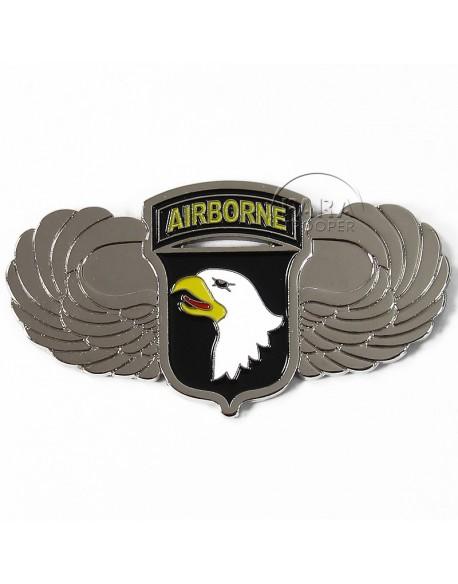 Magnet 101e Airborne, métal, brevet