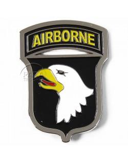 Magnet, 101st airborne, metal