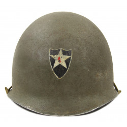 Casque M1, 2nd Infantry Division, liner Westinghouse
