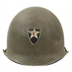 Helmet, M1, 2nd Infantry Division, Westinghouse Liner
