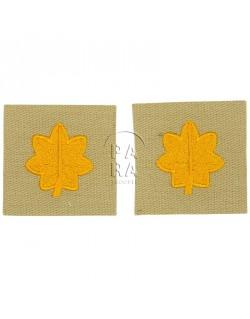 Rank insignia, cloth, major