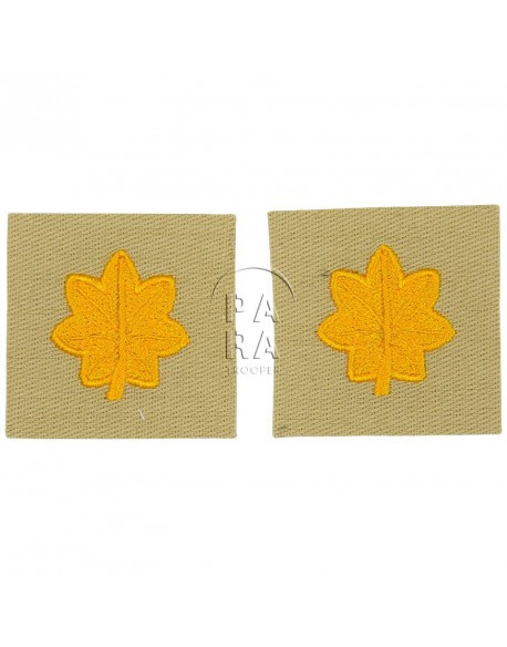 Rank insignia, cloth, major