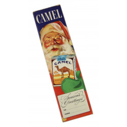 Carton, Cigarettes, Camel, Season's Greetings