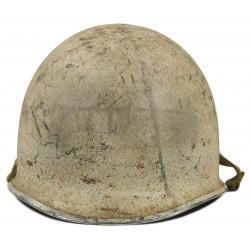 Helmet, M1, White Camo, Battle of the Bulge