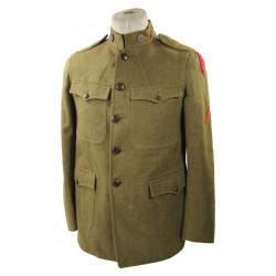 Tunic, M1917, 61st Inf. Regt., 5th Inf. Div., Saint-Mihiel, Meuse-Argonne