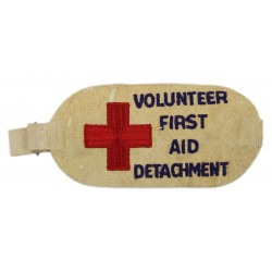Armband, Volunteer, First Aid Detachment