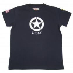 T-shirt, Child, Navy Blue, D-Day
