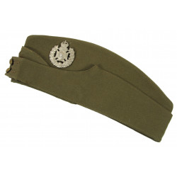 Field service cap, Canadian, Royal Winnipeg Rifles, Juno Beach