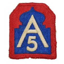 Patch, Fifth US Army, Anzio