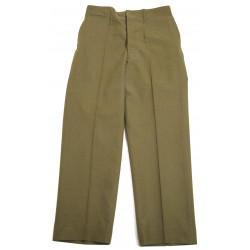 Trousers, Wool, Serge, OD, Special, 34 x 33, 1942