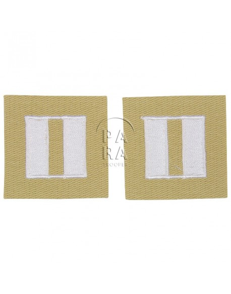 Rank insignia, cloth, captain