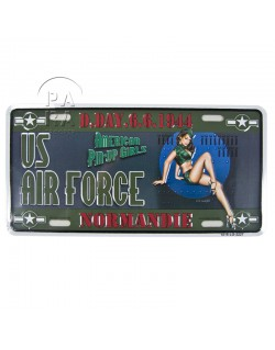 US Air Force, Pin Up, vehicle plaque