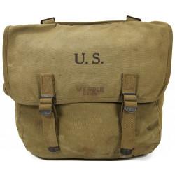 Bag, Field, M-1936, CWO William Uber, 12th Naval Construction Battalion, 1943