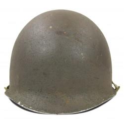 Helmet, M1, Pfc. Steve Zabawa, 358th Inf. Regt., 90th Infantry Division, Normandy