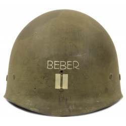 Liner, Helmet, M1, Firestone, Captain, Named