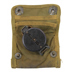 Compass, Gurley, with impregnated Canvas Pouch