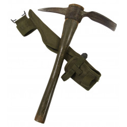 Pick-Mattock, Intrenching, M-1910 + Carrier 1944