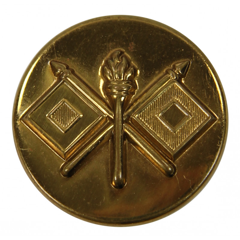 Disk, Collar, Signal Corps, Stamped