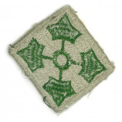 Patch, 4th Infantry Division, white
