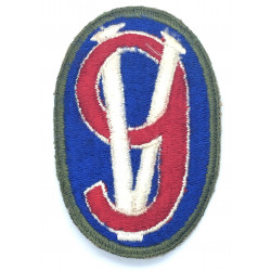 Patch, 95th Infantry Division, Green border, Lorraine