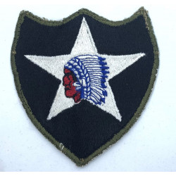 Patch, 2nd Infantry Division, OD border