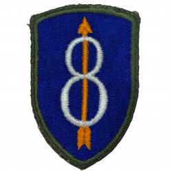 Patch, 8th Infantry Division, OD Border
