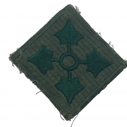 Patch, 4th Infantry Division, early production