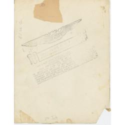 Photo, original print, 508th PIR, 82nd AB Div., Normandy
