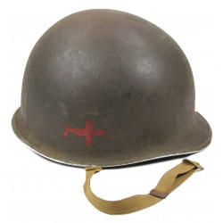 Helmet, Shell, M1, Medic, ETO