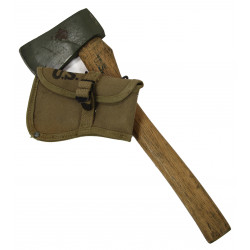 Axe, Intrenching, M-1910, with Carrier, 1942