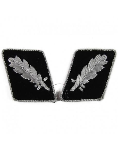 Collar tabs, Waffen SS, Standartenführer