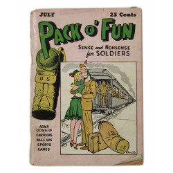 Magazine, PACK O' FUN, 1943
