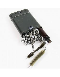 Nécessaire de nettoyage pour Mauser, boite métal