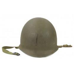Helmet, M1, Fixed Bales, Firestone Liner, US Navy, F1c Kelly Glynn, USS South Dakota, PTO
