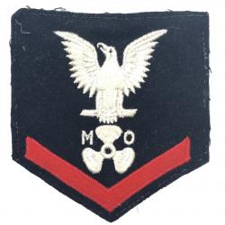 Insignia, Motor Machinist's Mate 3rd Class, US Navy, 1944