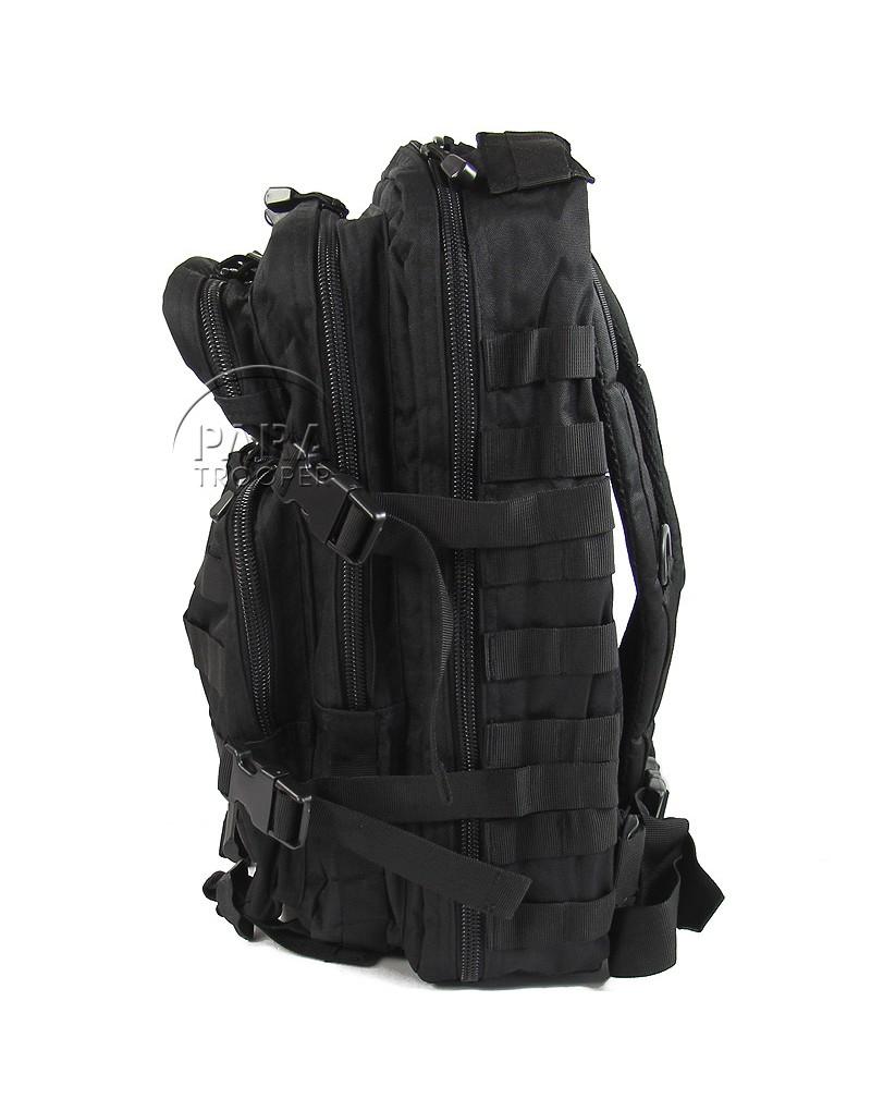 sac dos noir grand mod le paratrooper. Black Bedroom Furniture Sets. Home Design Ideas