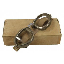 Goggles, Aviator's, American Optical Company, in Box