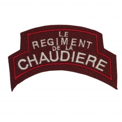 Title, Le Régiment de la Chaudière