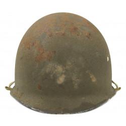 Helmet, M1, Complete, Fixed Bales, Seaman Paper Co. Liner