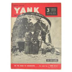Magazine, YANK, July 16, 1944, Cherbourg